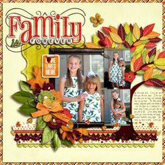 Family is Forever - Scrapbook.com