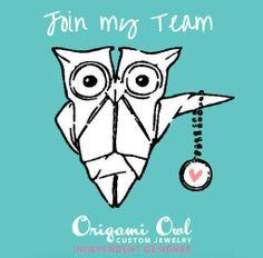 Join my Origami Owl Team.  Designer # 23616