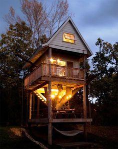Tereasa & David's Grown-Up Tree House