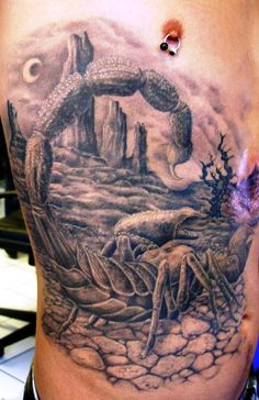 Scorpion Images Tattoo