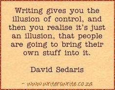 Quotable - David Sedaris