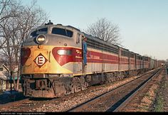 RailPictures.Net Photo: EL 821 Erie Lackawanna EMD E8(A) at Marion, Indiana by Kent Nelson