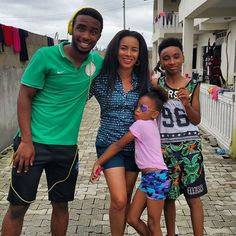 Welcome to Naijahotloaded Blog: Ibinabo Fiberesima poses with 3 of her kids