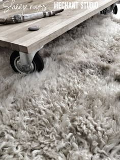 Sheep Rug by Cez on Etsy