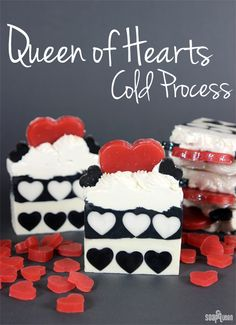 Queen of Hearts Cold Process Tutorial