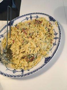 Pasta carbonara Opskrift af Dorte A - Cookpad