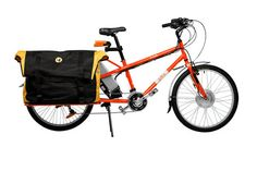 Yuba V4 Electric-Assist Cargo Bike used by Pedal Express.