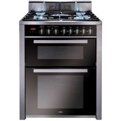 CDA RV701SS Double Oven 70cm Dual Fuel Range Cooker - Stainless Steel