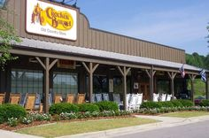 Cracker Barrel... love to eat and shop here!