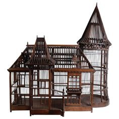 Century Carpenter Masterpiece Bird Cage, The bird cage is both a home for your birds and an attractive tool. You can select whatever you want on the list of bird cage versions and get far more unique images. Bird Cage Design, Antique Bird Cages, The Caged Bird Sings, Patio, Backyard, Gothic House, Vintage Birds, Home And Deco, Beautiful Birds