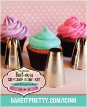 Best Ever Cupcake Icing Kit - I seriously want this.