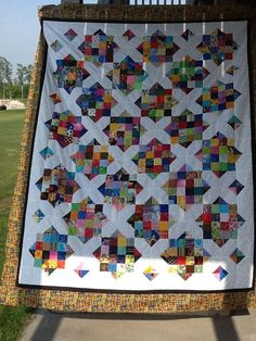 I created a quick pattern that we will be using in our quilt group.   If you are not in the group, consider making one to donate to someone ...