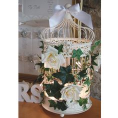 Birdcage For Wedding Gift Cards : ... Ideas on Pinterest Birdcages, Vintage birdcage and Bird cages