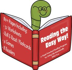 Product Review: Reading the Easy Way! - 12 Week Program & Give Away ends 10/20