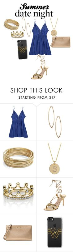 """""""date night rooftop bar"""" by shayshayv ❤ liked on Polyvore featuring Lydell NYC, Design Lab, ZoÃ« Chicco, Erica Courtney, Aperlaï, MICHAEL Michael Kors and Casetify"""