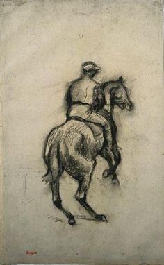 "Edgar Degas (1834-1917, France) ""The Jockey 1"","