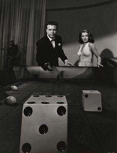 """Dick Powell and Evelyn Keyes in Johnny O'Clock (""""Dama, Valete e Rei"""", Film-Noir. Stars: Dick Powell, Evelyn Keyes, Lee J. Classic Film Noir, Classic Movies, Lauren Bacall, Cary Grant, Classic Hollywood, Old Hollywood, Hollywood Actresses, Gerard Philipe, Thing 1"""