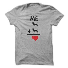 #tshirts... Nice T-shirts  Dog Math-2 Dogs . (Cua-Tshirts)  Design Description: Show the world how much you love your 2 dogs!  If you do not fully love this Tshirt, you'll SEARCH your favorite one through the use of search bar on the header....