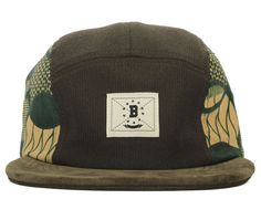 Cord 5-Panel Hat by BODEGA
