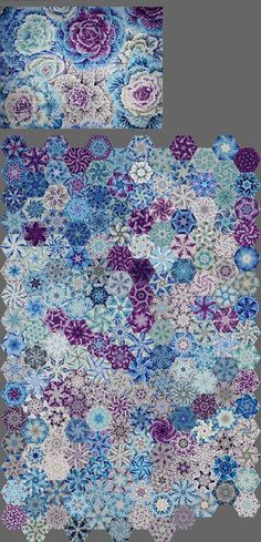 Patch Quilt, Quilt Blocks, One Block Wonder, Millefiori Quilts, Kaleidoscope Quilt, Panel Quilts, Hexagon Quilt, Quilted Wall Hangings, English Paper Piecing