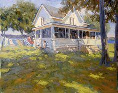 "Fred Doloresco ""Lake House"", 24 x 30"