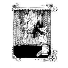 ilustracje do pokoju dziecięcego