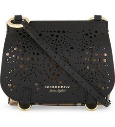 BURBERRY - Bridle baby leather cross-body bag | Selfridges.com