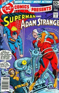 dc comics presents | DC Comics Presents (1978 DC) comic books