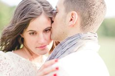 Engagement session - windy day portraits