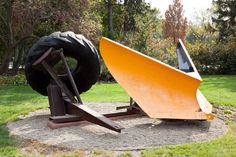 Snowplow, Mark Di Suvero, 1968, © Mark Di Suvero.