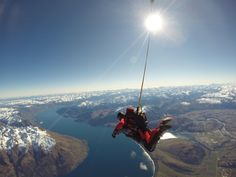 #Skydive #Queenstown #outdoor #newzealand #adventure #vacation #holiday #southpacific #skydiving #adrenaline