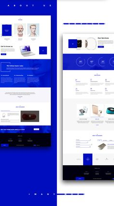 Berlin - Tech Company HTML5 & CSS3 Template on Behance