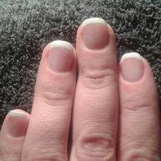 Acryl french manicure nails