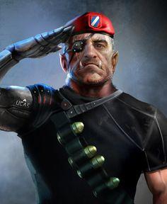 Ork Soldier from Shadowrun Online