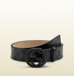 Gucci ceinture noire