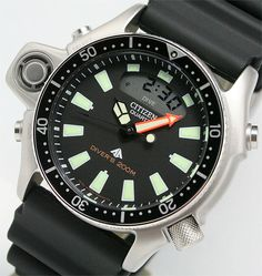 Old classic- Citizen Aqualand I Retro Watches, Vintage Watches, Watches For Men, Bracelets For Boyfriend, Bracelets For Men, Tactical Watch, Citizen Watch, Wedding Bracelet, Seiko