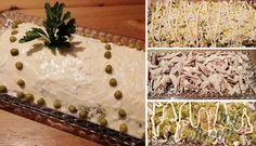 Velikonoční vajíčkovo-kuřecí majonézový salát | NejRecept.cz Animal Print Rug, Garnishing