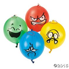 Emotional Punch Balls