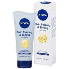 Nivea Skin Firming & Toning Gel-Cream has a enriched formula that works to improve the skin's firmness in as little as 2 weeks. It improves skin appearance and provides a soft and supple feeling.Provides firmer, more toned skin in as little as 2 weeks Skin Tightening Cream, Skin Firming, Healthy Nails, Healthy Skin, Healthy Weight, Anti Aging, Serum, Cellulite Scrub, Body Gel