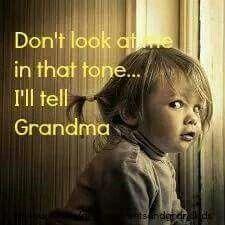 So my grand kids