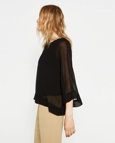 KIMONO SLEEVE TOP - Available in more colours