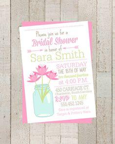 e627b2669f7f Items similar to Shabby Chic Rustic Bridal Shower Invite