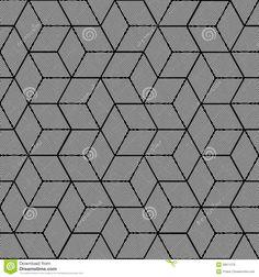 Geometric Pattern - Seamless Graphic Design -