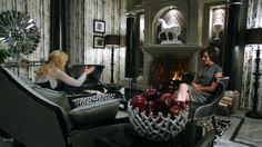 "Once Upon a Time ABC | Regina's Office in ABC's ""Once Upon A Time"" 
