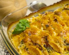 Herzhaftes Kürbisgratin Curry, Ethnic Recipes, Fett, Meat, Paleo Food, Cheese Recipes, Souffle Dish, Curries