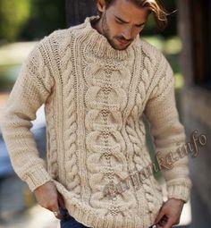 Пуловер (м) 06*600 Phildar №4925