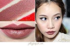 Lipstick, Wet n Wild, 914C Mocha-Licious, Swatch, Mega Last Lip Color, Semi-Matte, Cream Finish, Cruelty-Free