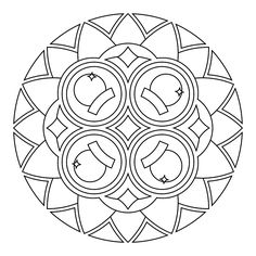 Free Printable Mandalas for colouring