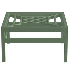 "Southport 36"" Square Lacquer Coffee Table - Green (16 colors available)"