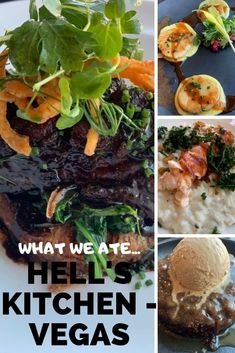There are so many places to eat in Vegas, it's hard to know where to go. Here are a few places worth checking out the next time you are in Vegas. Cheese Bar, Cheese Lover, Butter Poached Lobster Tail, Nutella Bar, Lobster Risotto, Pan Seared Scallops, Toffee Pudding, Potato Cakes, Short Ribs